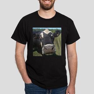 baldy cow Dark T-Shirt