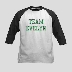 TEAM EVELYN  Kids Baseball Jersey