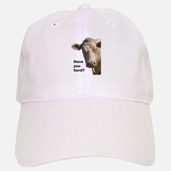 Have you herd? Baseball Baseball Cap