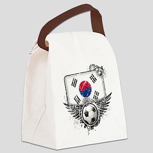 Soccer fan South Korea Canvas Lunch Bag