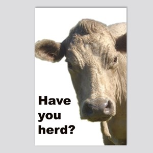 Have you herd? Postcards (Package of 8)