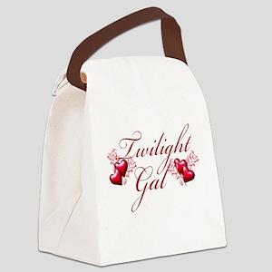 Twilight Gal Canvas Lunch Bag