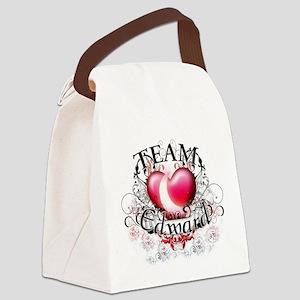 Team Edward Tribal Canvas Lunch Bag