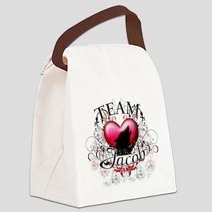Team Jacob Tribal Canvas Lunch Bag