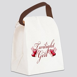 Twilight Girl Canvas Lunch Bag