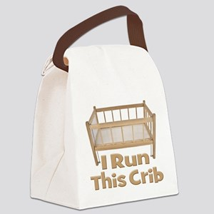 I run this Crib Canvas Lunch Bag