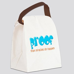 Proof (miracles) Canvas Lunch Bag