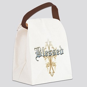 Blessed Canvas Lunch Bag