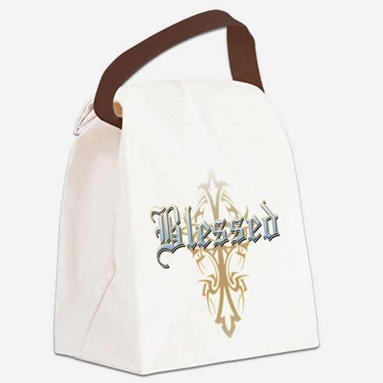 Blessed.png Canvas Lunch Bag