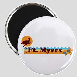 Fort Myers - Beach Design. Magnet