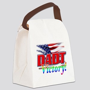 DADT Victory Canvas Lunch Bag