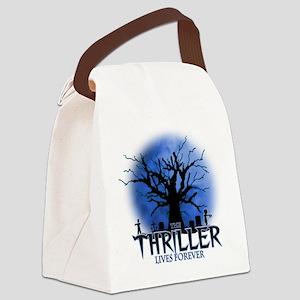 thriller Canvas Lunch Bag