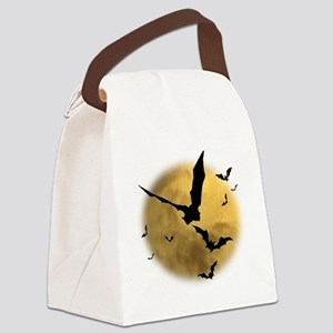 Bats in the Evening Canvas Lunch Bag