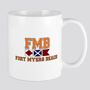 Fort Myers - Nautical Design. Mug