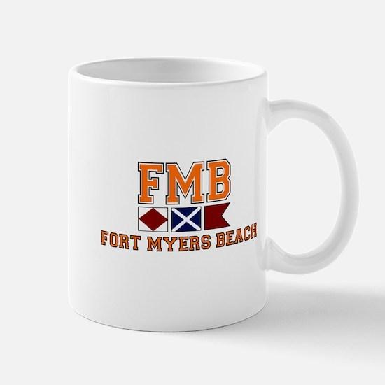 Fort Myers - Nautical Design. Mug