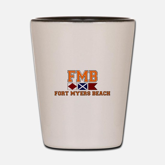 Fort Myers - Nautical Design. Shot Glass
