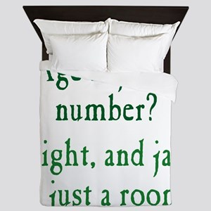 Age is Just a Number Queen Duvet