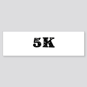 5K Bumper Sticker