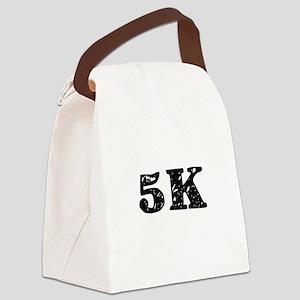 5K Canvas Lunch Bag