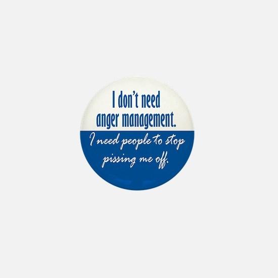 Anger Management Mini Button