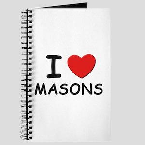 I love masons Journal