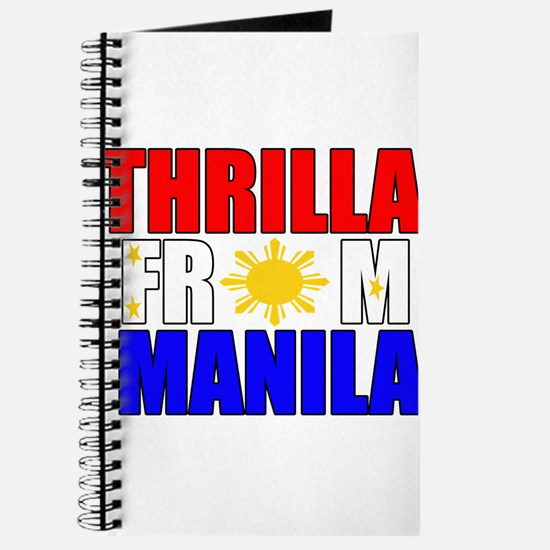 THRILLA FROM MANILA Journal