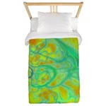 The Green Earth Abstract Twin Duvet
