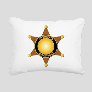 Sheriff's Department Badge Rectangular Canvas Pill
