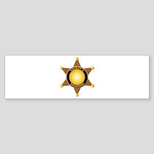 Sheriff's Department Badge Sticker (Bumper)