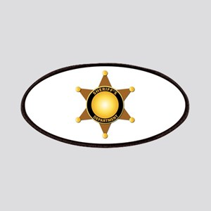 Sheriff's Department Badge Patches