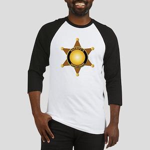Sheriff's Department Badge Baseball Jersey
