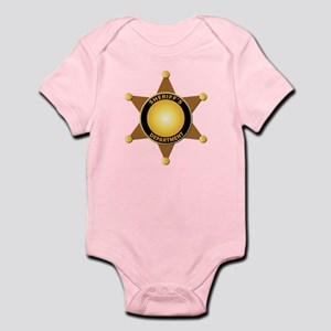 Sheriff's Department Badge Infant Bodysuit