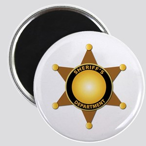 Sheriff's Department Badge Magnet