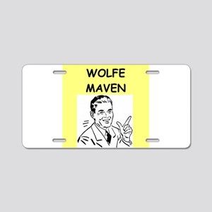 WOLFE Aluminum License Plate