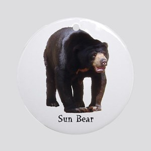 sun bear Ornament (Round)