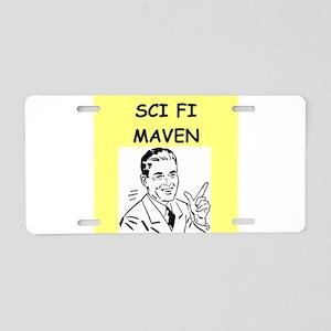 SCI Aluminum License Plate
