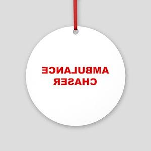 Ambulance Chaser Ornament (Round)