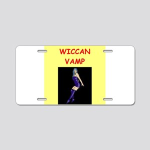 WICCAN Aluminum License Plate