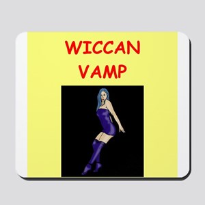 WICCAN Mousepad