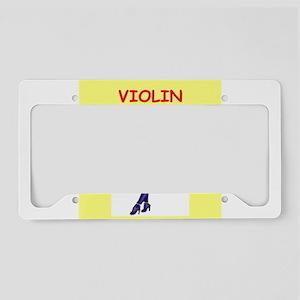 VIOLIN License Plate Holder