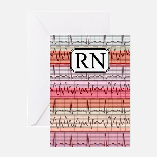 RN case reds Greeting Card