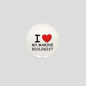 I love marine biologists Mini Button