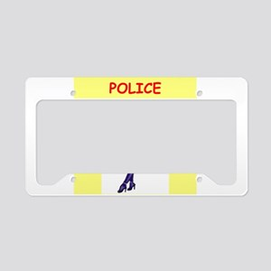 POLICE License Plate Holder