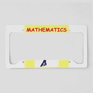 MATH2 License Plate Holder