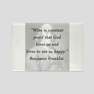 Franklin - Wine Magnets