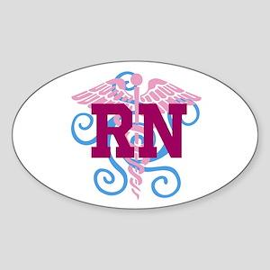 RN Swirl Sticker