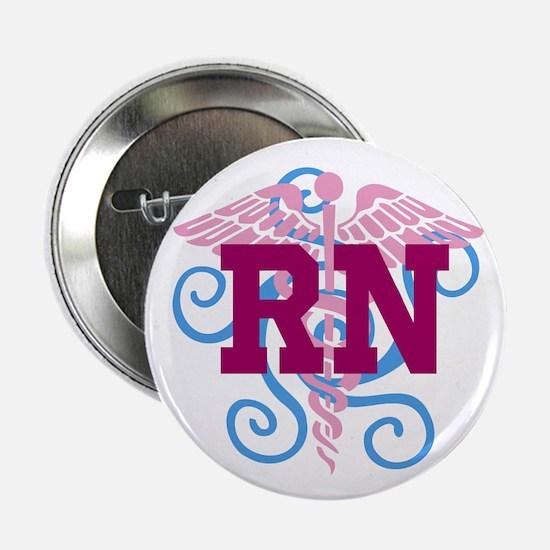 RN Swirl 2.25&Quot; Button