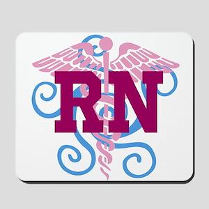 RN swirl Mousepad