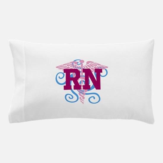 RN Swirl Pillow Case