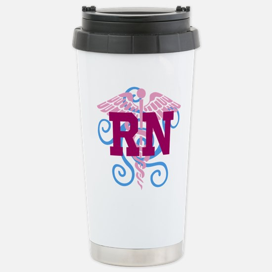 RN swirl Travel Mug